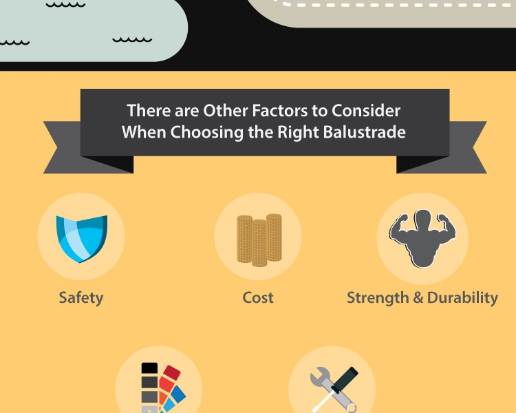 How to choose the right balustrades for your home - Infographic