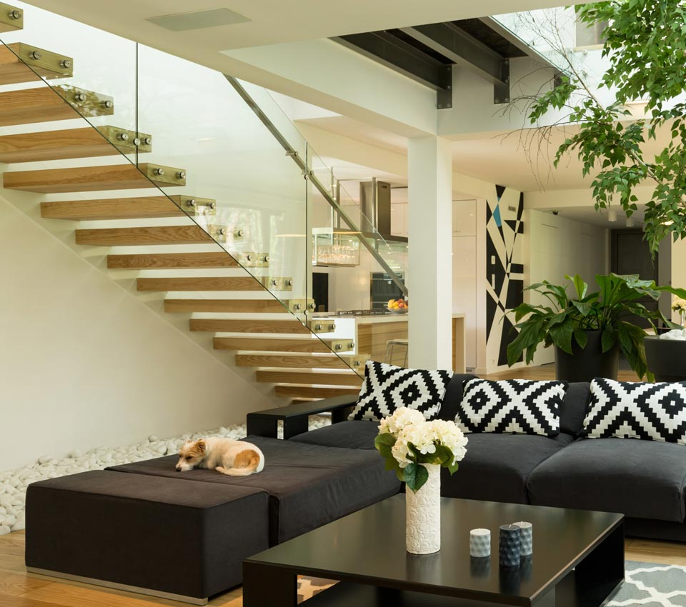35 Modern Interior Design Ideas Incorporating Columns Into: Interior Design Styles And Staircase Trends For 2018 To