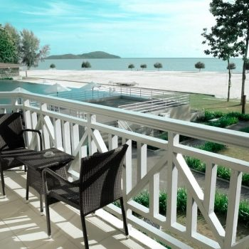 white balcony balustrades