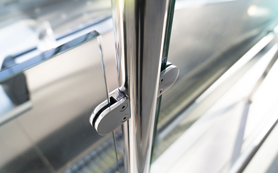 Glass balustrades hardware