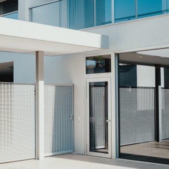 modern glass balustrades