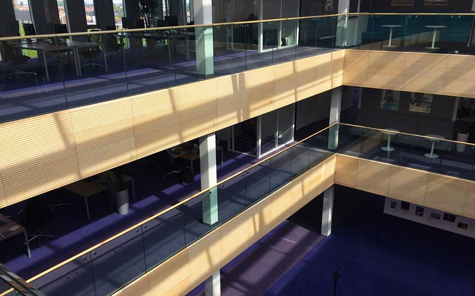 AMG Frameless Glass Railings