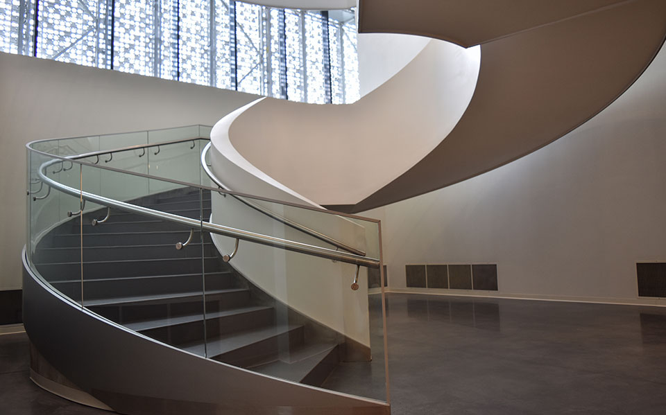 Architectural glass balustrades