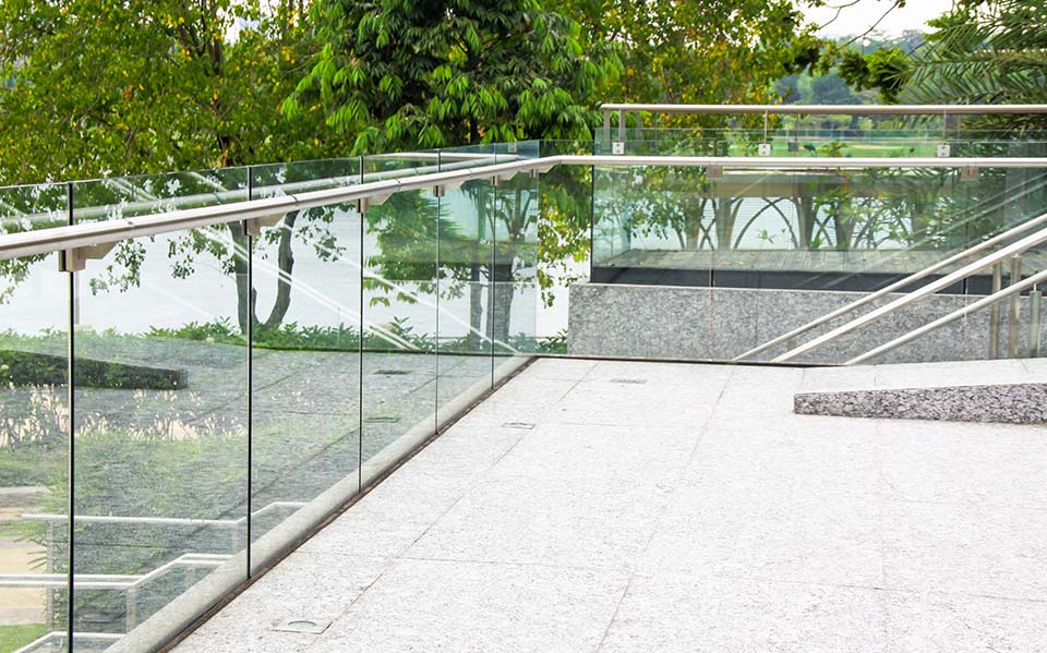 Glass balustrade project