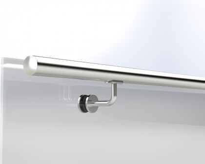Stainless Steel Handrails for Glass