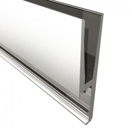 Standard Advanced Side Fix Flanged For 17.5mm Glass