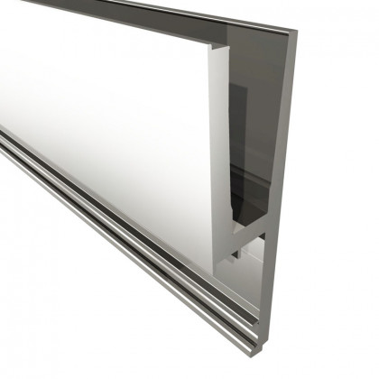 Standard Royal Side Fix Flanged For 25.5mm Glass