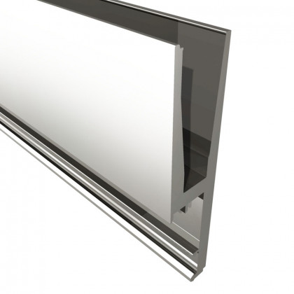 Standard Excellence Side Fix Flanged For 19mm Glass